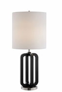 Lite Source LS-23230 Shirley Modern Black Lighting Table Lamp