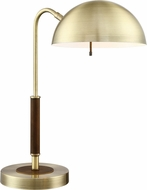 Lite Source LS-23302 Clouseau Modern Aged Bronze Craft Lamp