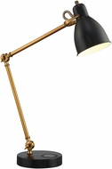 Lite Source LS-23332 Wellington Contemporary Aged Bronze Task Lighting
