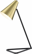 Lite Source LS-23384 Cooper Contemporary Gold Desktop Lamp