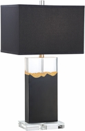 Lite Source LS-23388 Kolton Modern Black Table Lighting
