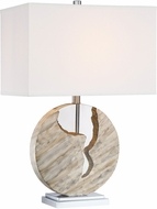 Lite Source LS-23390 Reeder Modern Marbleized Table Lamp Lighting