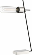 Lite Source LS-23476 Tomlin Contemporary Brushed Nickel Desk Lamp