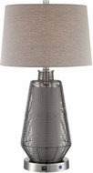 Lite Source LS-23488 Connor Modern Polished Steel LED Table Light