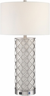 Lite Source LS-23491 Verona Modern Polished Steel LED Lighting Table Lamp