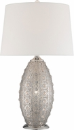 Lite Source LS-23494 Masura Modern Polished Nickel Table Top Lamp