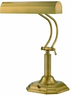 Lite Source LS-398AB Piano Mate Antique Brass Fluorescent Study Lamp