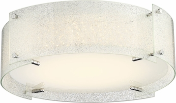Lite Source LS-5419DIAMOND Kaelin Modern Chrome LED Ceiling Light
