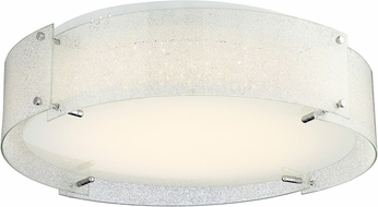 Lite Source LS-5420DIAMOND Kaelin Contemporary Chrome LED Ceiling Light Fixture