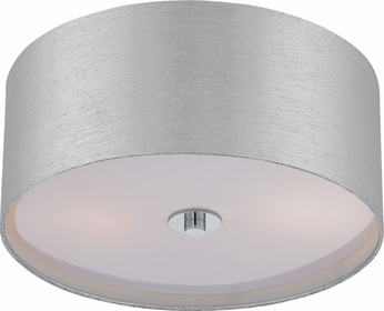 Lite Source LS-5569C-SIL Silvain Contemporary Chrome Ceiling Lighting