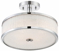 Lite Source LS-5576 Gianetta Contemporary Chrome Ceiling Lighting