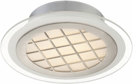 Lite Source LS-5700 Contemporary Silver LED Ceiling Light Fixture