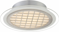 Lite Source LS-5701 Modern Silver LED Ceiling Lighting Fixture