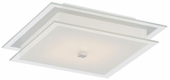 Lite Source LS-5708 Idonia Modern Chrome LED Ceiling Light