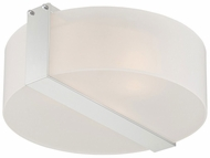 Lite Source LS-5866 Rogina Contemporary Polished Steel Ceiling Light Fixture