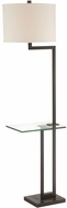 Lite Source LS-81746DBRZ Rudko Modern Dark Bronze Light Floor Lamp