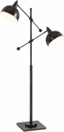 Lite Source LS-82605D-BRZ Cupola Contemporary Dark Bronze Lighting Floor Lamp