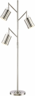 Lite Source LS-82818 Tindra Modern Chrome Floor Light