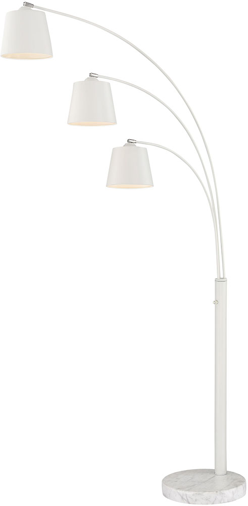 Lite source ls 83033wht quana modern white arc floor lamp lighting lite source ls 83033wht quana modern white arc floor lamp lighting loading zoom aloadofball Gallery