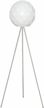Lite Source LS-83130 Pandora Modern Brushed Nickel Floor Lighting