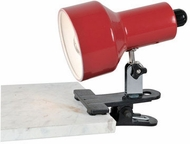 Lite Source LS-114RED Clip-On II Black Clip On Reading Light