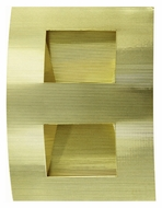 Lite Source LS1321PBS Zaya Contemporary Polished Brass Wall Lighting - 11 Inches Tall