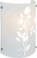 Lite Source LS16476 Hanna I Floral Pattern Modern Wall Sconce