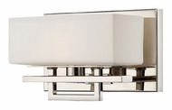 Lite Source LS16501 Pascala Chrome Finish 5 Inch Tall Transitional Wall Sconce Light