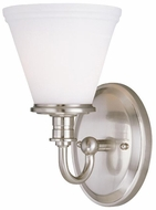 Lite Source LS16651PSFRO Bastien Contemporary Wall Sconce