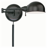 Lite Source LS16753AGED/CP Rizzo Aged Copper 21 Inch Wide Swing Arm Wall Lamp