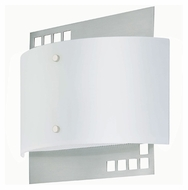 Lite Source LS16801PS/FRO Karlstad 11 Inch Wide Polished Steel Finish Fluorescent Wall Sconce Lighting