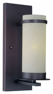 Lite Source LS16821 Montego 11 Inch Tall Dark Bronze Finish Lighting Sconce - Transitional