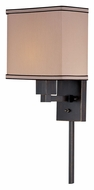 Lite Source LS16919 Harvard Transitional Dark Bronze Finish 14 Inch Tall Wall Sconce