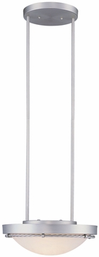 Lite Source LS1831SS-CLD Easton Collection Satin Steel Ceiling Light