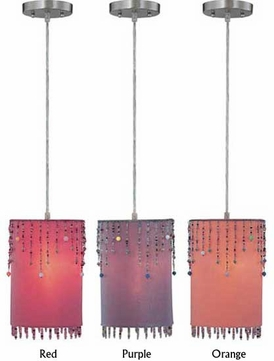 Lite Source LS19265 Shaggie Contemporary Pendant Light