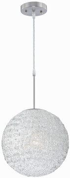 Lite Source LS19598 Icy Dome Modern Pendant Lighting
