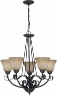 Lite Source LS19885 Ember 5-light Traditional Chandelier