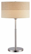 Lite Source LS20751PS Relaxar Large Contemporary Table Lamp