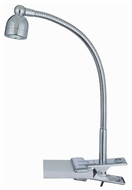 Lite Source LS21098 Calipso Modern Clip-On LED Desk Lamp