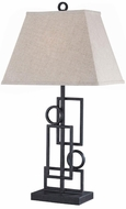 Lite Source LS21207 Plato Wrought Iron Table Lamp