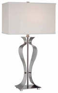 Lite Source LS21243PS Gada Modern Table Lamp in Polished Steel