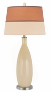 Lite Source LS21500IVY Gillespie 37 Inch Tall Ivory Finish 18 Inch Wide Table Lamp Lighting