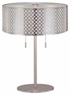 Lite Source LS21519PS Netto Modern Table Lamp