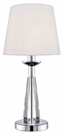 Lite Source LS21781 Tayden Table Lamp with Crystal Body