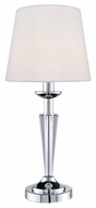 Lite Source LS21782 Vallerie Table Lamp with Clear Crystal Body