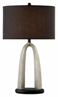 Lite Source LS21873 Bambina Silver 32 Inch Tall Lighting Table Lamp