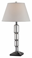 Lite Source LS22000 Thera Clear Glass Body 29 Inch Tall Modern Table Light