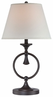 Lite Source LS22035 Stephanos Dark Bronze Table Light
