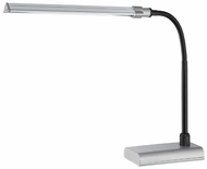 Lite Source LS22048SILV Ermete Modern Silver Adjustable L.E.D. Desk Light
