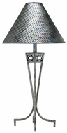 Lite Source LS3780 (OVERSTOCK SALE) Tessuto Table Lamp in Antique Pewter